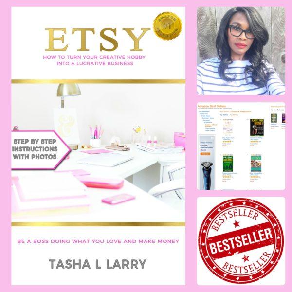 tasha larry amazon bestseller etsy book