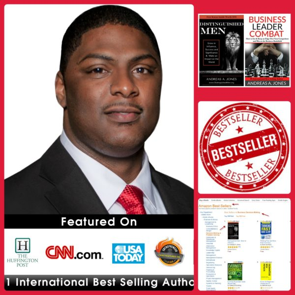 andreas jones bestselling author